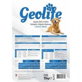 Geolife Biftekli Yetişkin Köpek Maması