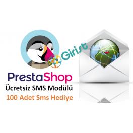 Prestashop Ücretsiz Sms Modülü